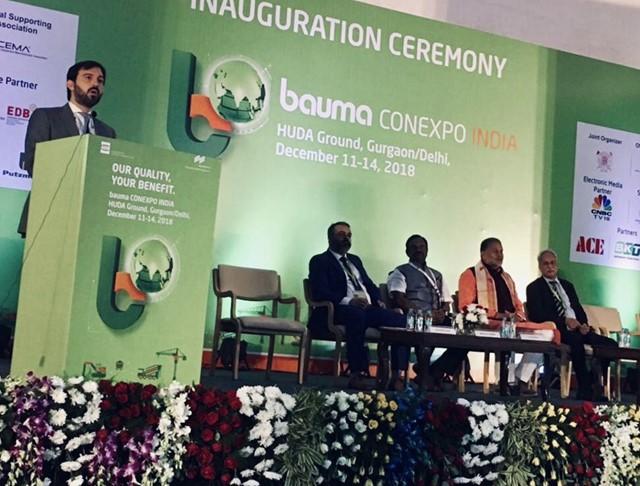 Focus on the Indian Construction Sector – CECE at bauma CONEXPO INDIA